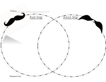 Mustache Baby Venn Diagram
