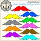 Mustache Clipart {Anchor Art Man