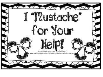 Mustache Job Chart