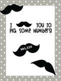 Mustache Numbers