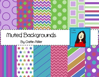 Muted Backgrounds