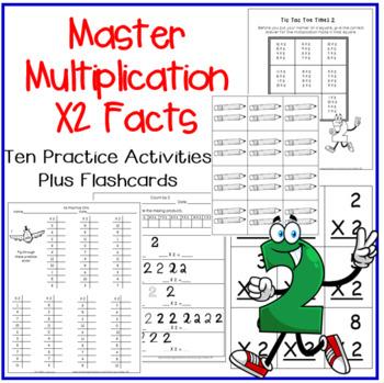 Mutliplication Facts X2 Practice Activities