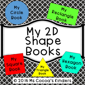 My 2D Shape Books
