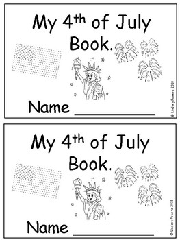 My 4th of July Book