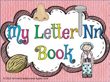 My ABC Book: The Letter N