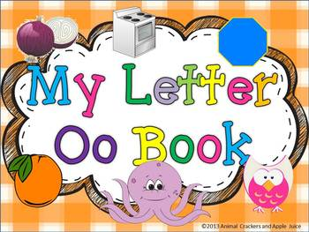 My ABC Book: The Letter O