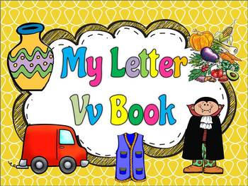 My ABC Book: The Letter V