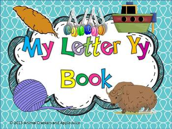 My ABC Book: The Letter Y