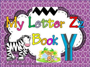My ABC Book: The Letter Z