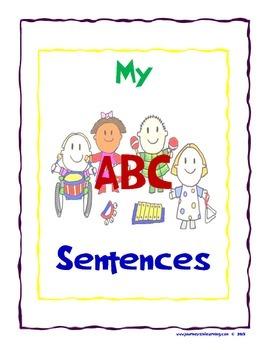 My ABC Sentences!