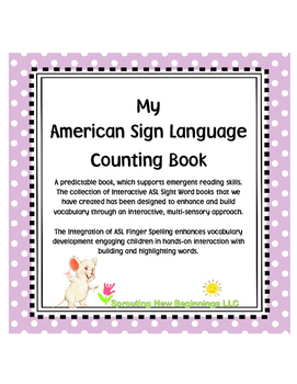 My ASL Counting Book