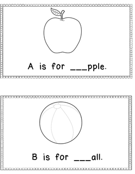 My Alphabet Book (Freebie)