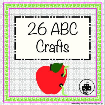 Alphabet Craft Book