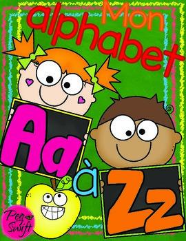 My Alphabet ~ French ~ Mon alphabet