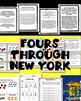 My Amazing Race  Across New York- 4s Multiplication Facts,