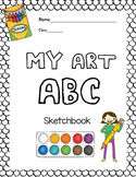 My Art ABC Sketchbook: 26 Alphabet Activities for Art Clas