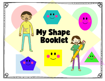 My Art Class Shape Booklet:  Practice drawing shapes!