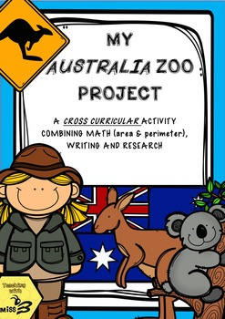 My Australia Zoo - A Cross Curricular Project teaching Are