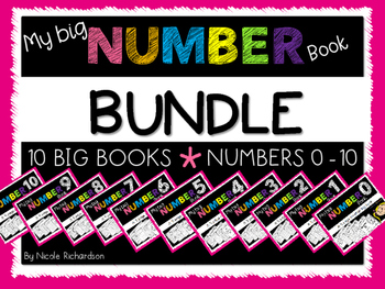 My Big NUMBER BUNDLE~ NO-PREP
