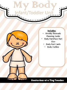My Body! {An Infant/Toddler Activity Pack}