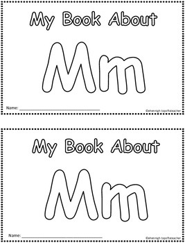 My Book About Mm    Little Emergent Reader