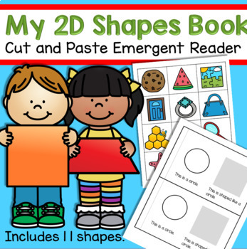 Shapes - a cut and paste emergent reader