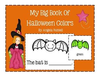 My Big Book Of Halloween Colors