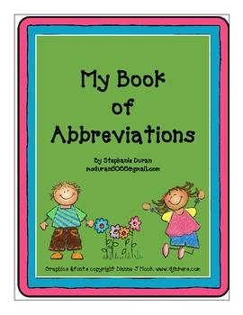 My Book of Abbreviations