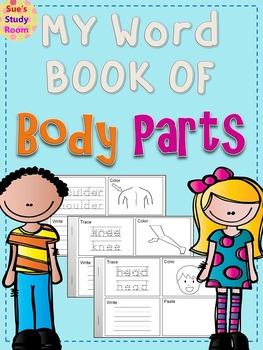 My Word Book of Body Parts