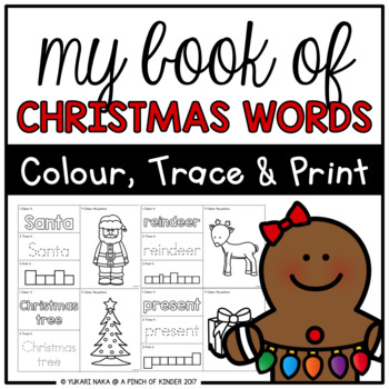 My Book of Christmas Words