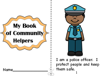 My Book of Community Helpers