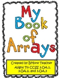 My Book of Math Multiplication Arrays