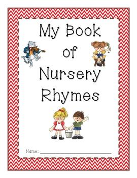 My Book of Nursery Rhymes {Cover}