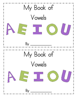 My Book of Vowels
