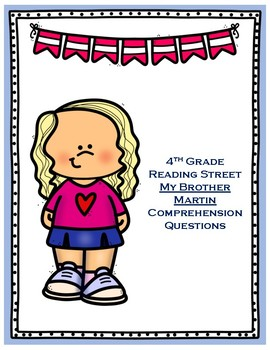 My Brother Martin - 4th Grade Reading Street