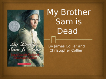 My Brother Sam is Dead (vocab powerpoint)