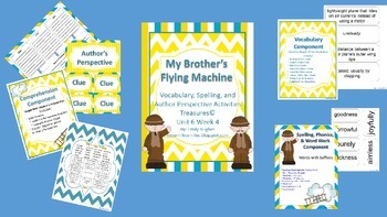 My Brother's Flying Machine 4th Grade Treasures Unit 6 Week 3