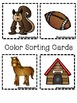 Color Books;Brown; Includes 3 worksheets;Cut/Paste Activit