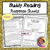 Buddy Reading Response Sheets 4-Pack