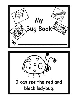 My Bug Book - Emergent Reader