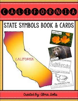 California State Symbols (Book & Picture Cards)