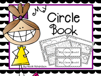 My Circle Book-EASY PREP!