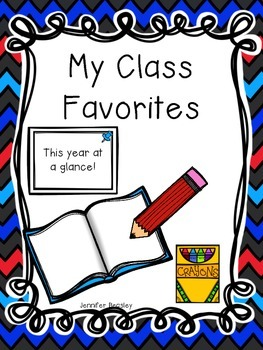 My Class Favorites--FREEBIE