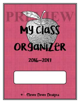 My Class Organizer (Pink), GRADE BOOK, Planner