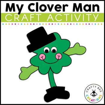 My Clover Man Cut and Paste