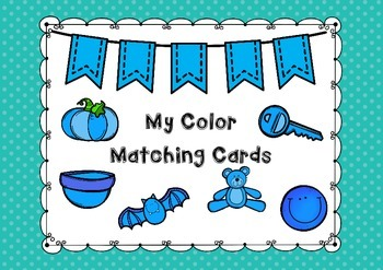 My Color Matching Cards