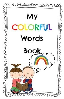 My Colorful Words Book