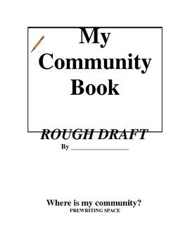 My Community Book Unit