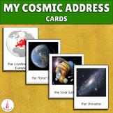 My Cosmic Address Montessori Cards