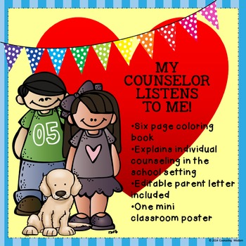 My Counselor Listens To Me- Learn About Individual Counseling